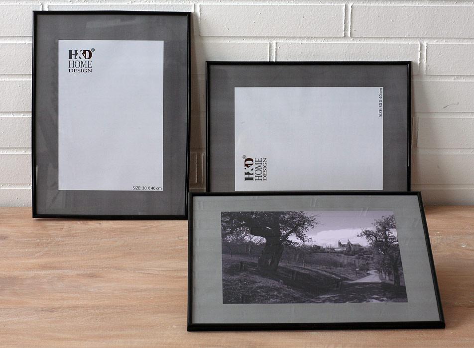 Rahmen - Kunststoff, Glas | H & D home design